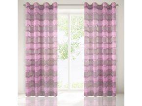 Dekorační vzorovaná záclona MARLEN 140x250 cm MyBestHome