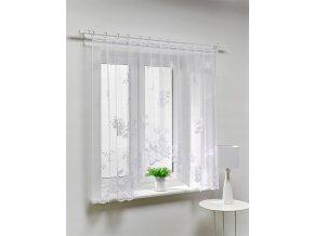Dekorační oblouková krátká záclona HELENA bílá 300x150 cm MyBestHome