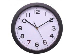 Nástěnné hodiny BAZO bílá/černá Ø 30,5 cm Mybesthome