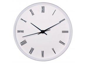 Nástěnné hodiny EASY bílá Ø 25,5 cm Mybesthome