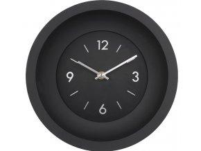 Nástěnné hodiny GRASSO černá Ø 25 cm Mybesthome