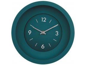 Nástěnné hodiny GRASSO mořská zelená Ø 25 cm Mybesthome