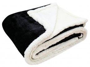 Přehoz - mikrovláknová deka s beránkem KAILA 07 -150x200 cm Essex