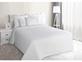 Přehoz na postel ZLATAN 220x240 cm bílá Mybesthome