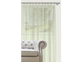 Dekorační záclona s řasící páskou DIANA smetanová 400x260 cm MyBestHome