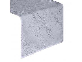 Ubrus - běhoun na stůl SPARK šedá 40x140 cm, Mybesthome