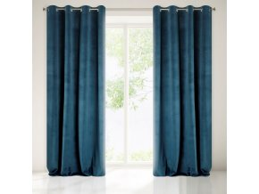 Dekorační závěs MONTREAL modrá 140x250 cm MyBestHome