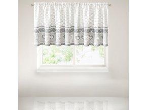 Krátký dekorační závěs - vitrážka ELIANA 90x140 cm MyBestHome