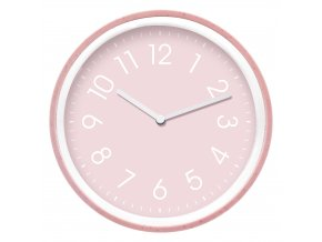 Nástěnné hodiny PINK Ø 20 cm Mybesthome
