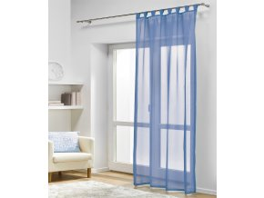 Dekorační záclona DIANA modrá 140x245 cm MyBestHome
