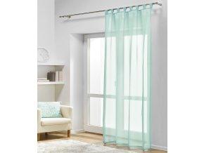 Dekorační záclona DIANA mátová 140x245 cm MyBestHome