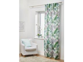 Dekorační záclona EKWADOR zelená 140x245 cm MyBestHome