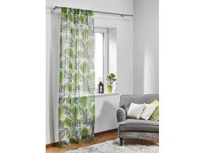 Dekorační záclona PALM 140x245 cm MyBestHome