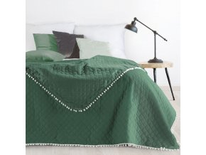 Přehoz na postel MICHELL 220x240 cm zelená Mybesthome