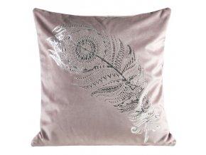Polštář PIUMA růžová 45x45 cm Mybesthome