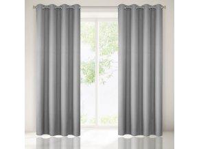 Dekorační závěs SEINA stříbrná 1x140x250 cm MyBestHome