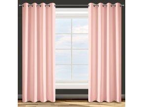 Dekorační závěs EASY TOP pudrová růžová 1x140x250 cm MyBestHome