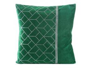 Polštář LISA zelená 45x45 cm Mybesthome