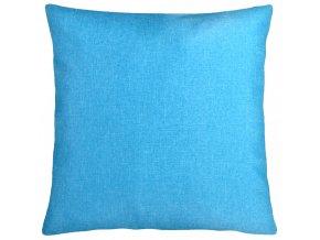 Polštář BASIC COLOUR 60x60 cm modrá ESSEX