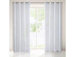 Dekorační luxusní záclona ROGER bílá 140x250 cm MyBestHome