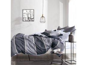 Povlečení VILHELM 100% bavlna set 3 ks, 1x 200x220 cm, 2x povlak 70x80 cm francouzské povlečení MyBestHome