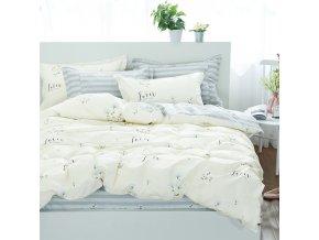 Povlečení LOVER 100% bavlna 1x 140x200 cm, 1x povlak 70x80 cm MyBestHome