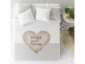 Přehoz na postel HOME SWEET HOME 220x240 cm MyBestHome