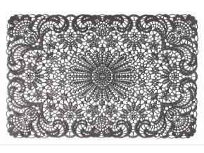 Prostírání LACE šedá 45x30 cm Mybesthome