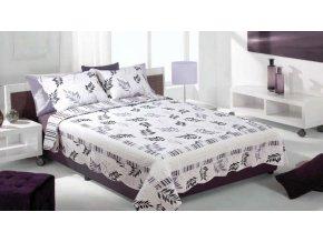 Přehoz na postel LUXURY 220x240 cm + dárek Mybesthome