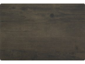 Prostírání WOOD 30x45 cm dřevěný motiv, tmavě hnědá Mybesthome