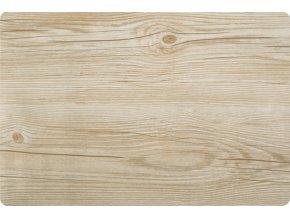 Prostírání WOOD 30x45 cm dřevěný motiv, světle hnědá Mybesthome