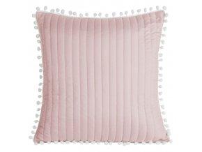 Polštář MIAMI 45x45cm růžová MyBestHome