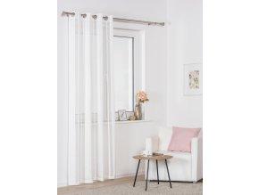 Dekorační luxusní záclona SINTRA bílá 140x245 cm MyBestHome