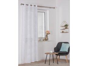 Dekorační luxusní záclona SALAL bílá 140x245 cm MyBestHome