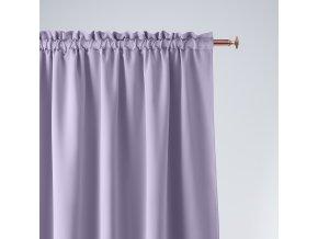 Dekorační závěs s řasící páskou COMO lila 140x250 cm MyBestHome