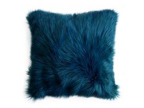 Polštář MONIQUE 45x45cm modrá MyBestHome
