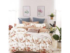 Povlečení ROMANCE 100% saténová bavlna 1x 140x200 cm, 1x povlak 70x80 cm MyBestHome