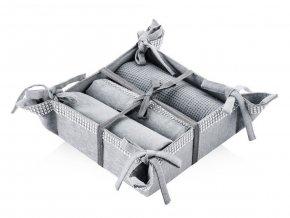 Košík na pečivo DIAMOS 36x36 cm HOME & YOU 100% bavlna