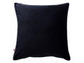 Polštář LARISSA černá 45x45 cm HOME & YOU