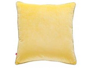 Polštář LARISSA žlutá 45x45 cm HOME & YOU