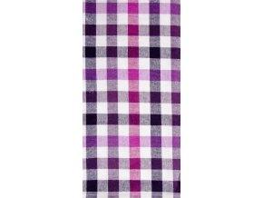 Utěrka COFFEE LOVE bavlněná, fialová, 45x65 cm Essex