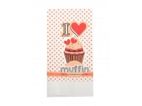 Utěrka LOVE - MUFFIN mikrovlákno 38x63 cm, Essex