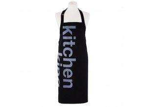 Kuchyňská bavlněná zástěra TYPES 80x85 cm, HOME & YOU, 100% bavlna
