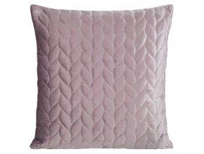 Polštář EMILY růžová 45x45 cm Mybesthome