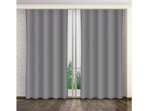 Dekorační závěs 10-1 šedá 160x250 cm MyBestHome