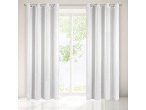 Dekorační vzorovaná záclona LANA bílá 140x250 cm MyBestHome