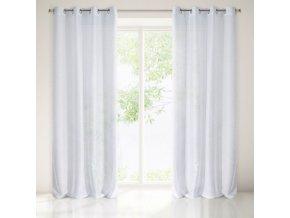 Dekorační vzorovaná záclona PRETTY bílá 140x250 cm MyBestHome