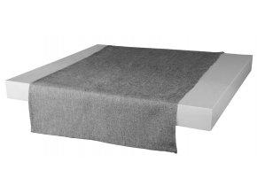 Ubrus - běhoun na stůl BASIC 40x120 cm, šedá, ESSEX