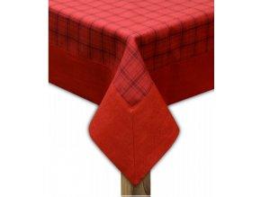 Ubrus - běhoun na stůl CAPRI 45x95 cm, červená, ESSEX