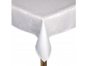 Ubrus CAMILLE bílá, 110x160 ESSEX
